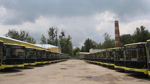 Львівське АТП-1 збудує біля автовокзалу нову базу для автобусів