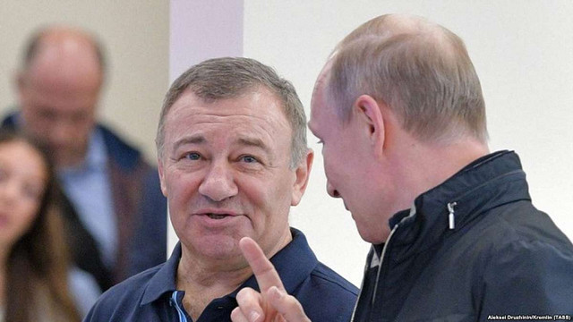 Україна не запровадила санкції проти компанії друга Путіна, яка будує міст у Криму