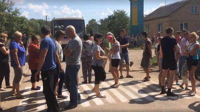 Поліція вперше відкрила провадження через перекриття дороги селянами у Сокальському районі