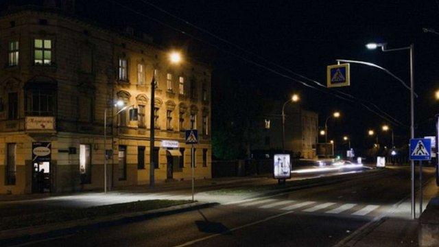 У Львові облаштували освітлення майже 300 пішохідних переходів