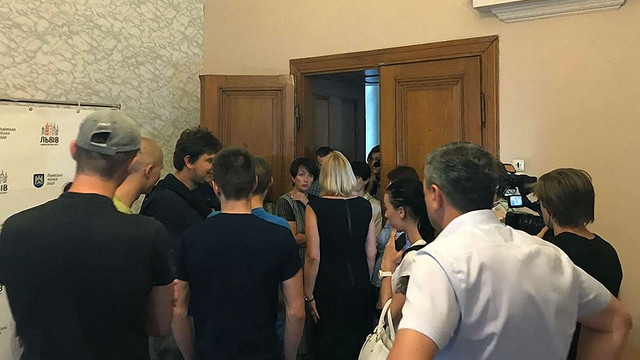 Праворадикали заблокували у львівській міськраді голову бюджетної комісії