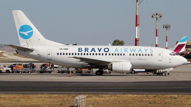 Авіакомпанія Bravo Airways скасувала чотири рейси до Львова з Туреччини і Тунісу