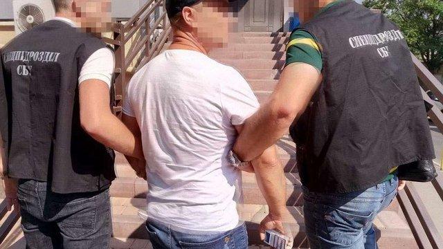 СБУ затримала іноземця, який перебував у міжнародному розшуку