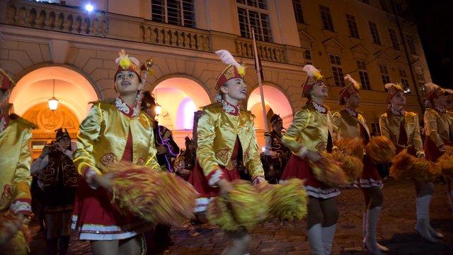 Фестиваль «Ніч у Львові» стартував музично-світловим дійством