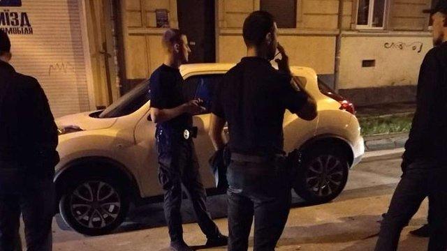 У центрі Львова патрульні влаштували нічну погоню за п'яним водієм
