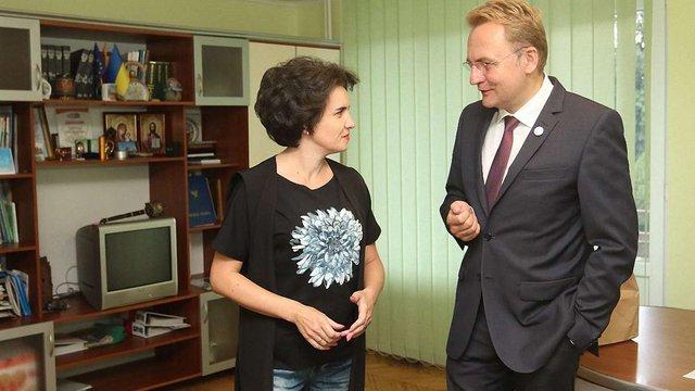 Андрій Садовий обговорив з мером Бурштина екологічні проблеми
