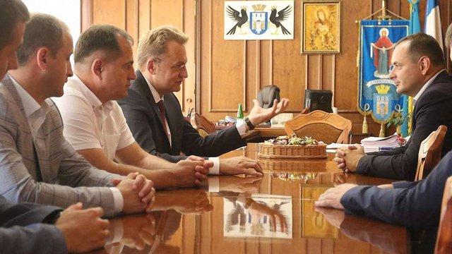 Андрій Садовий в Івано-Франківську зустрівся з Русланом Марцінківим і місцевим духовенством