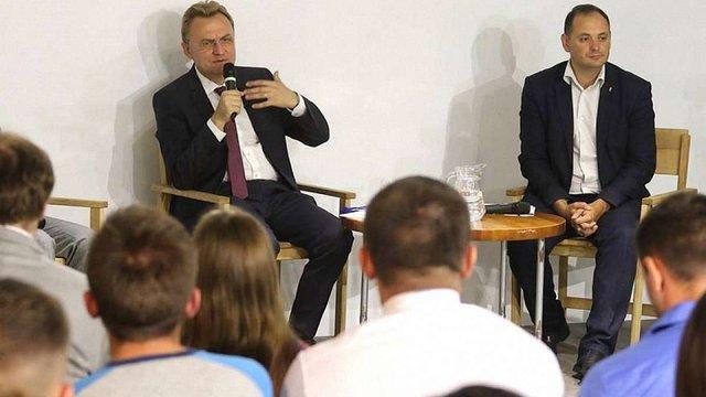 Садовий в Івано-Франківську заявив, що міста зможуть вивести країну на новий рівень розвитку