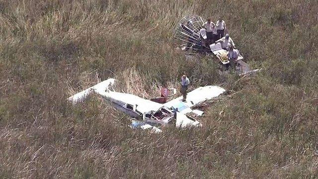 Троє людей загинули після зіткнення двох літаків під час навчального польоту в США