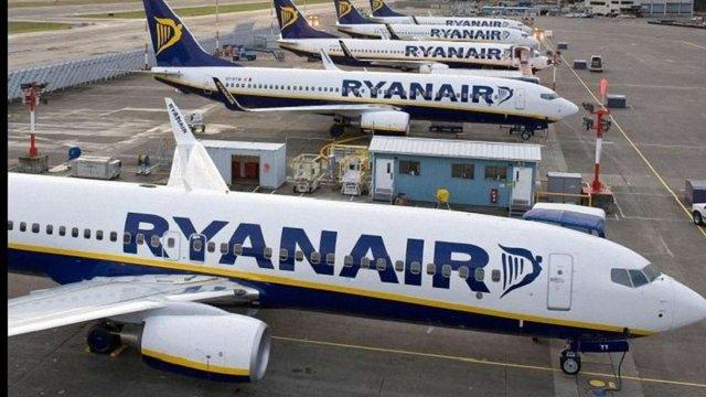 Ryanair в Європі скасував рейси для 50 тис. пасажирів через страйк бортпровідників