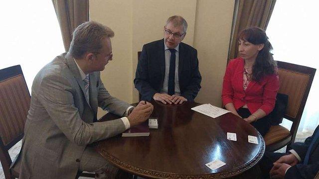 Мер Львова зустрівся з керівником німецької компанії, що збудувала десятки заводів переробки ТПВ
