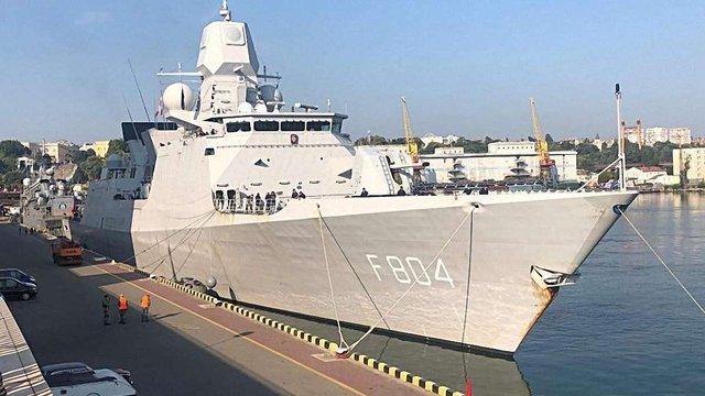 В Одеський порт прибули кораблі НАТО