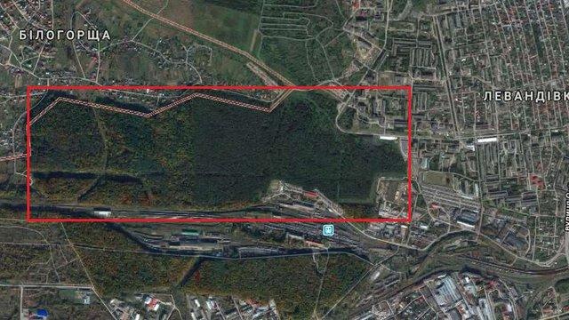 У львівському парку «Білогорща» висадять 1570 дерев та облаштують п'ять дитячих майданчиків