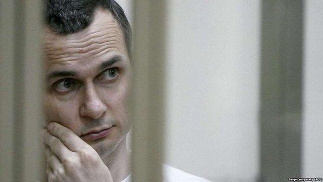 Сестра Олега Сенцова заявила, що він перебуває «у передсмертному стані»