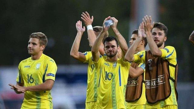 Юнацька збірна України з футболу вийшла в півфінал Євро-2018
