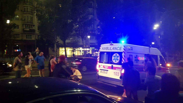 В Києві водій Hummer'а на смерть збив дитину на переході і намагався втекти