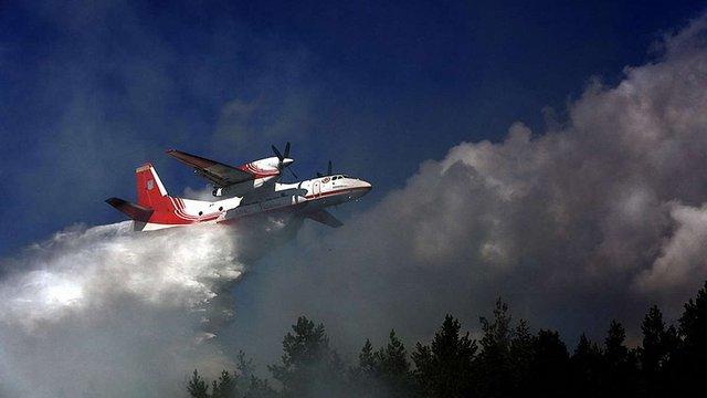 Українська авіація допомагатиме гасити масштабні лісові пожежі у Швеції