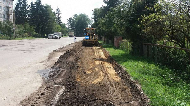 У Щирці на автомобільній дорозі Львів-Пустомити-Меденичі розпочалися ремонтні роботи