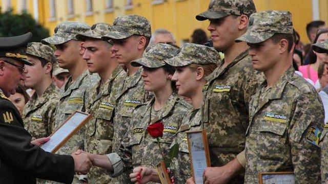 У Львові більше 800 офіцерів запасу урочисто присягнули на вірність українському народові
