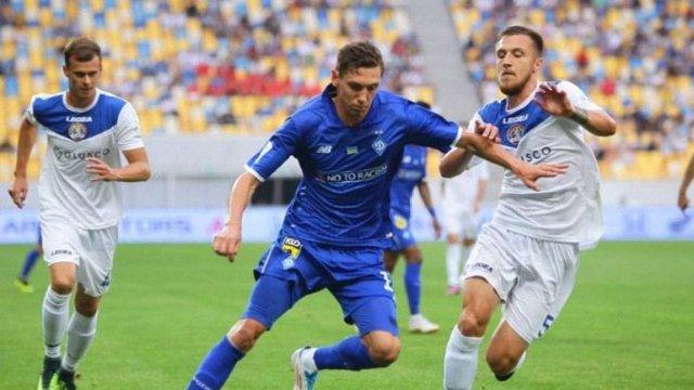 ФК «Львів» зазнав поразки від «Динамо» на останній хвилині матчу