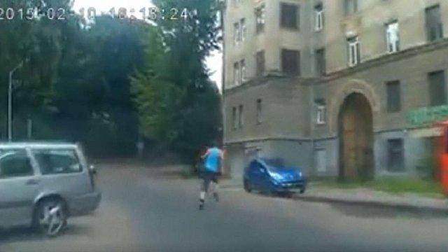Львівські патрульні на гарячому затримали злодія