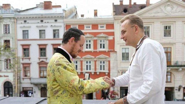 Андрій Садовий обговорив збереження єврейської спадщини Львова із рабином Вашингтона