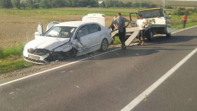 На Радехівщині у ДТП з бусом травмувалися дев'ятеро людей