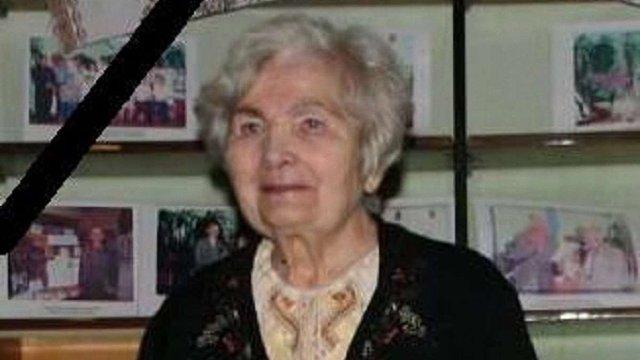 У Бориславі сьогодні поховають почесну мешканку міста Анастасію Закидальську