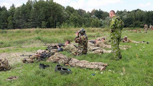 На Львівщині розпочалися збори та тренування резервістів територіальної оборони