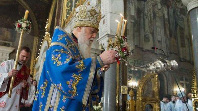 Патріарх Філарет назвав пропагандою інформацію про захоплення Лавр УПЦ (МП)