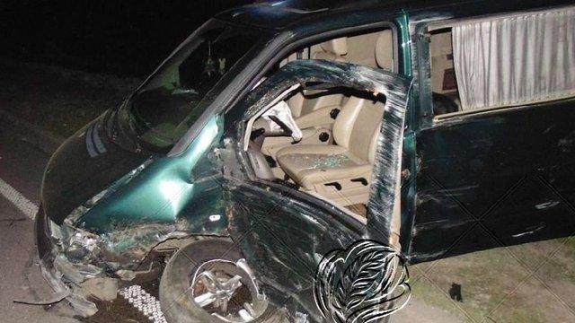 Внаслідок ДТП у Буську постраждало четверо людей