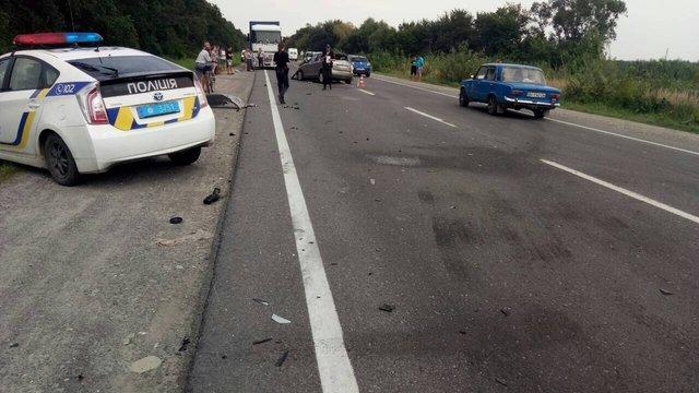 У ДТП в Стрийському районі постраждало п'ятеро людей