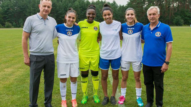 Жіночий футбольний клуб «Львів-Янтарочка» посилився чотирма футболістками з Бразилії