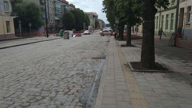 Вул. Личаківську відкриють для проїзду транспорту 15 серпня