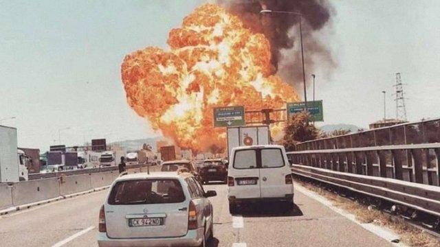 В Італії через вибух бензовоза постраждали 67 людей, 2 загинули