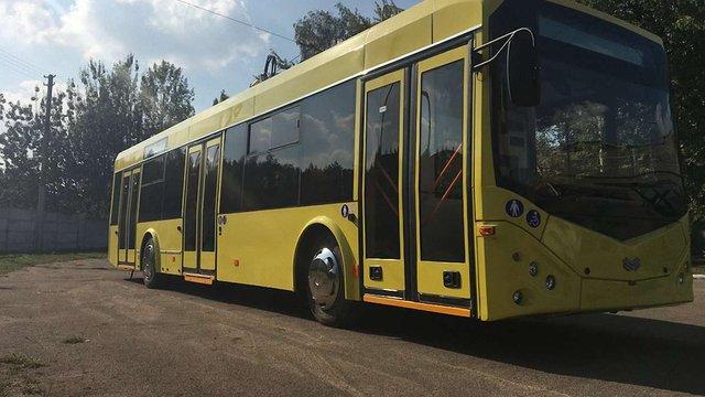 Івано-Франківськ придбав 29 білоруських тролейбусів