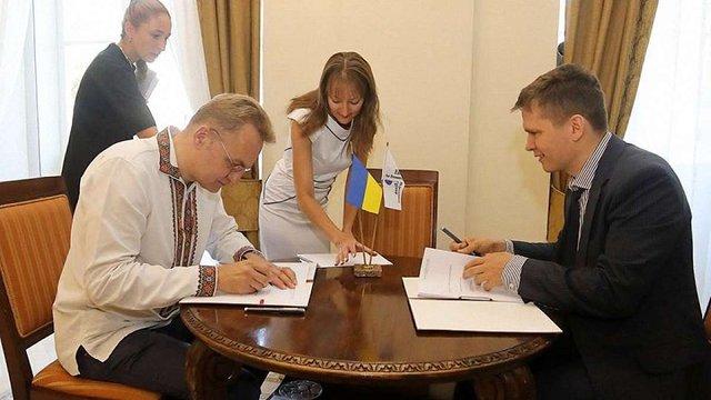 Львівська міськрада підписала з ЄБРР договір гарантії щодо будівництва сміттєпереробного заводу