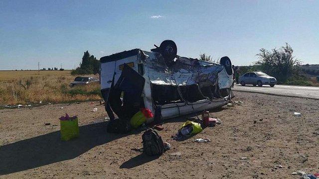 У поліції повідомили деталі страшної ДТП у Запорізькій області, в якій загинуло п'ятеро дітей
