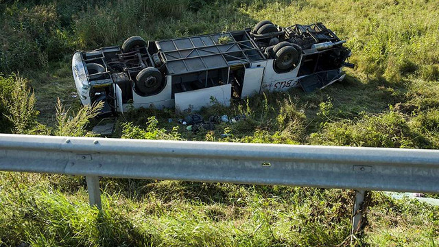 В Угорщині в аварії розбився мікроавтобус з українцями