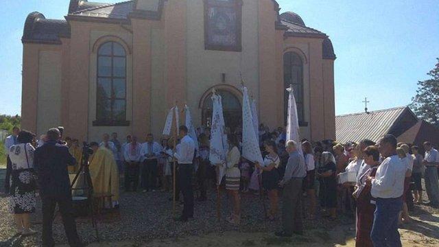 На Жовківщині відкрили та освятили церкву УГКЦ