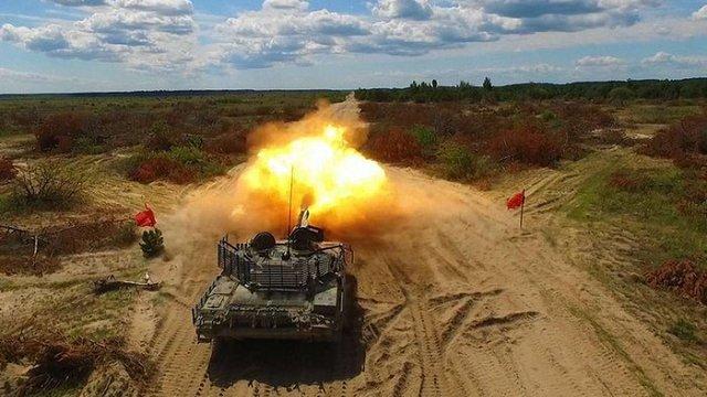 «Укроборонпром» повідомив про вогневі випробування нової версії танка Т-72