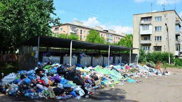 Через сміттєву кризу Дрогобицька міськрада просить оголосити місто зоною екологічного лиха