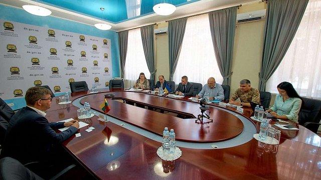 Литва виділить близько мільйона євро на відбудову Донбасу