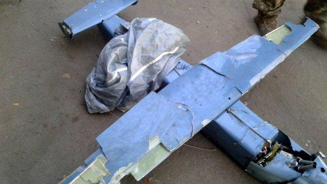 В зоні ООС українські військові збили російський безпілотник