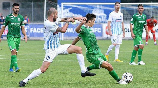 Львівські «Карпати» зіграли у нічию з «Десною», програючи у матчі 2:0