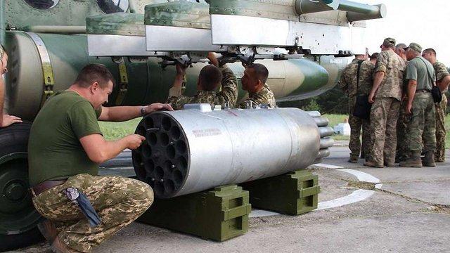 В Україні успішно випробували некеровану авіаційну ракету «Оскол»