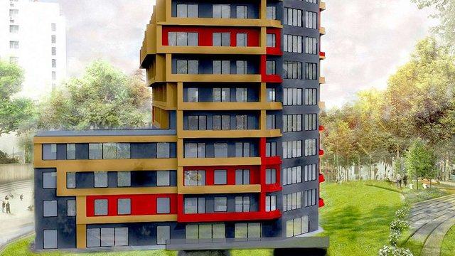 У районі Голоско збудують житловий комплекс
