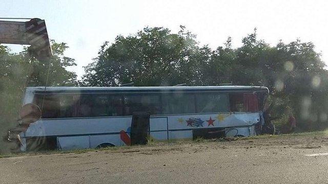 Троє людей загинули під час аварії автобуса на кордоні України і Молдови
