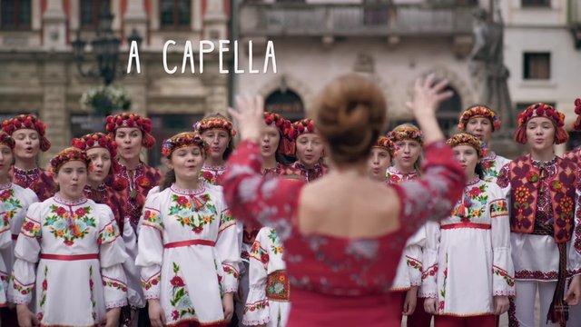У Львові зняли кліп на пісню «Несе Галя воду», який допомагає вивчити англійську абетку
