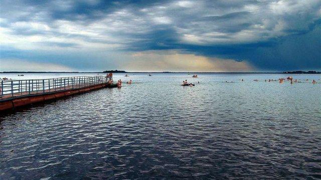 В озері Світязь у Шацьку потонули львів'янка з 11-річним сином